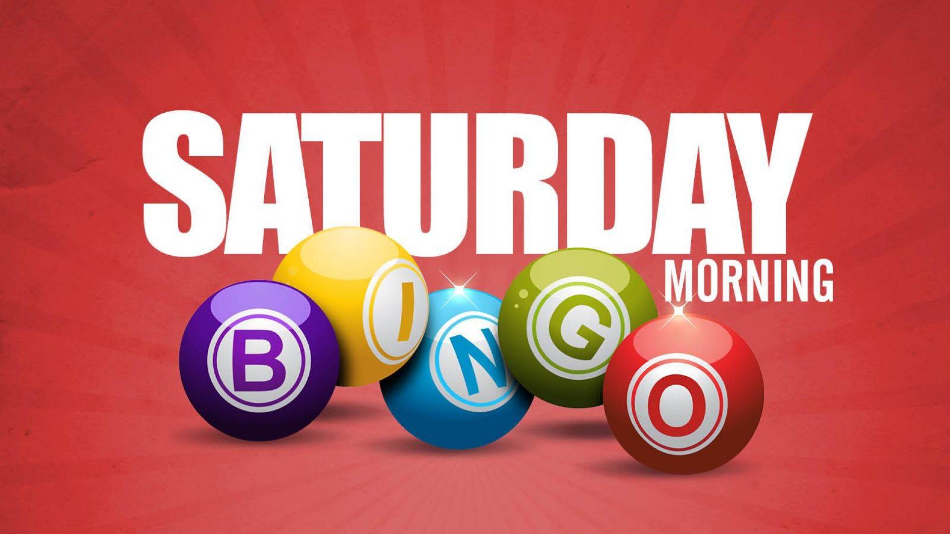 Saturday Bingo