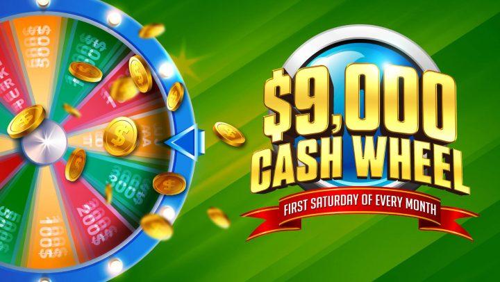 $9K Cash Wheel