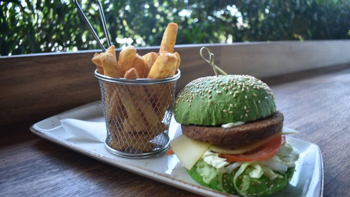 Macha Falafel Burger