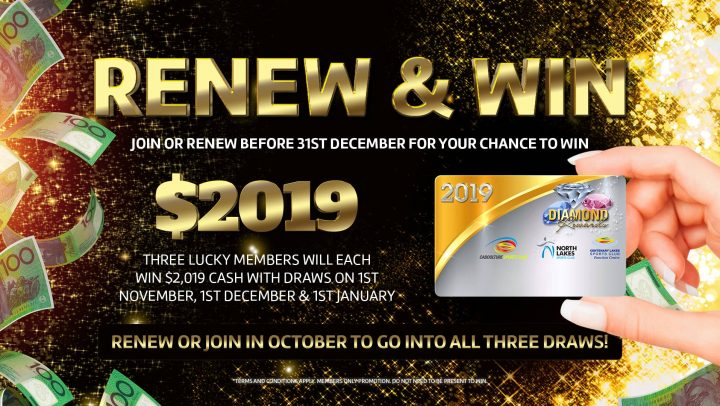 Renew or Join to WIN