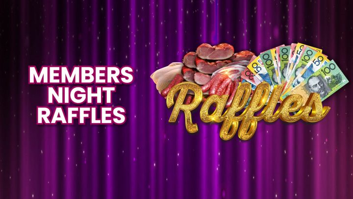 Tuesday Members Night Raffles