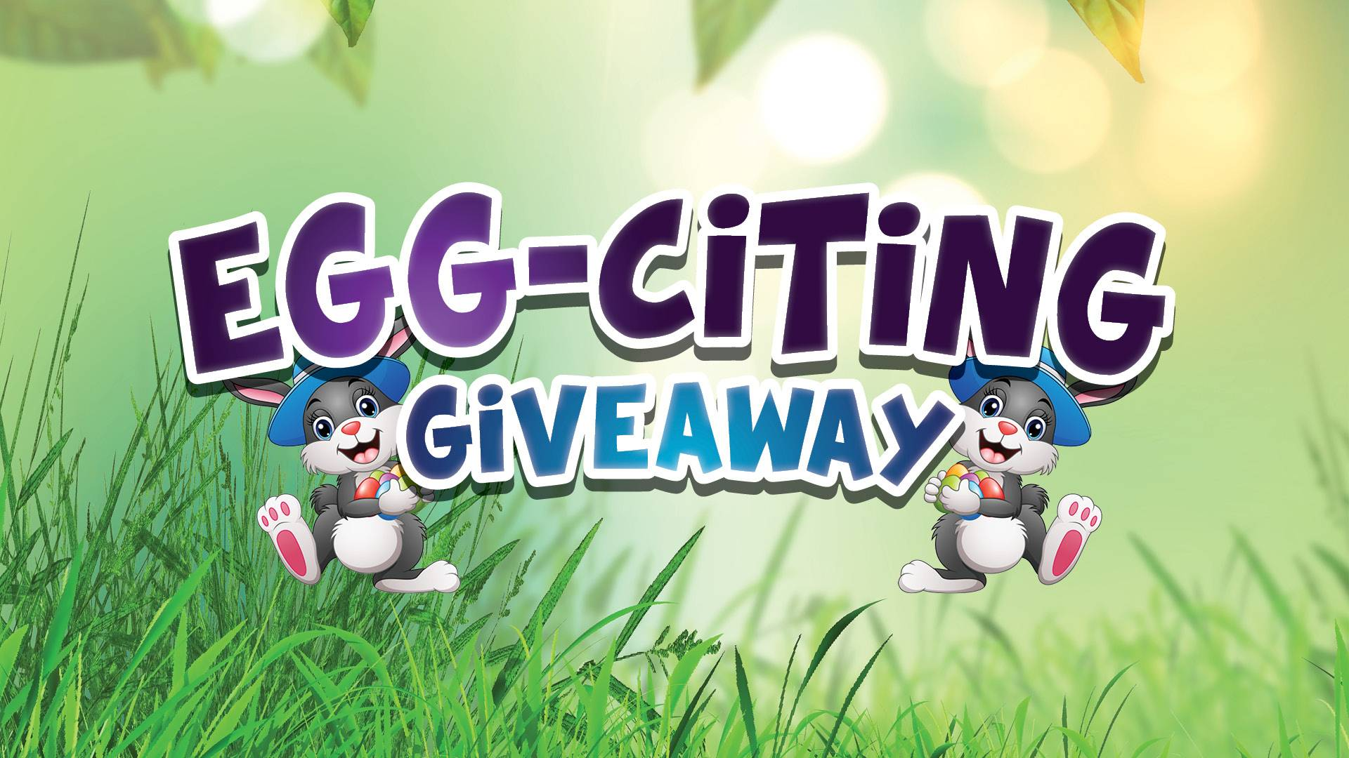 Egg-citing Giveaway