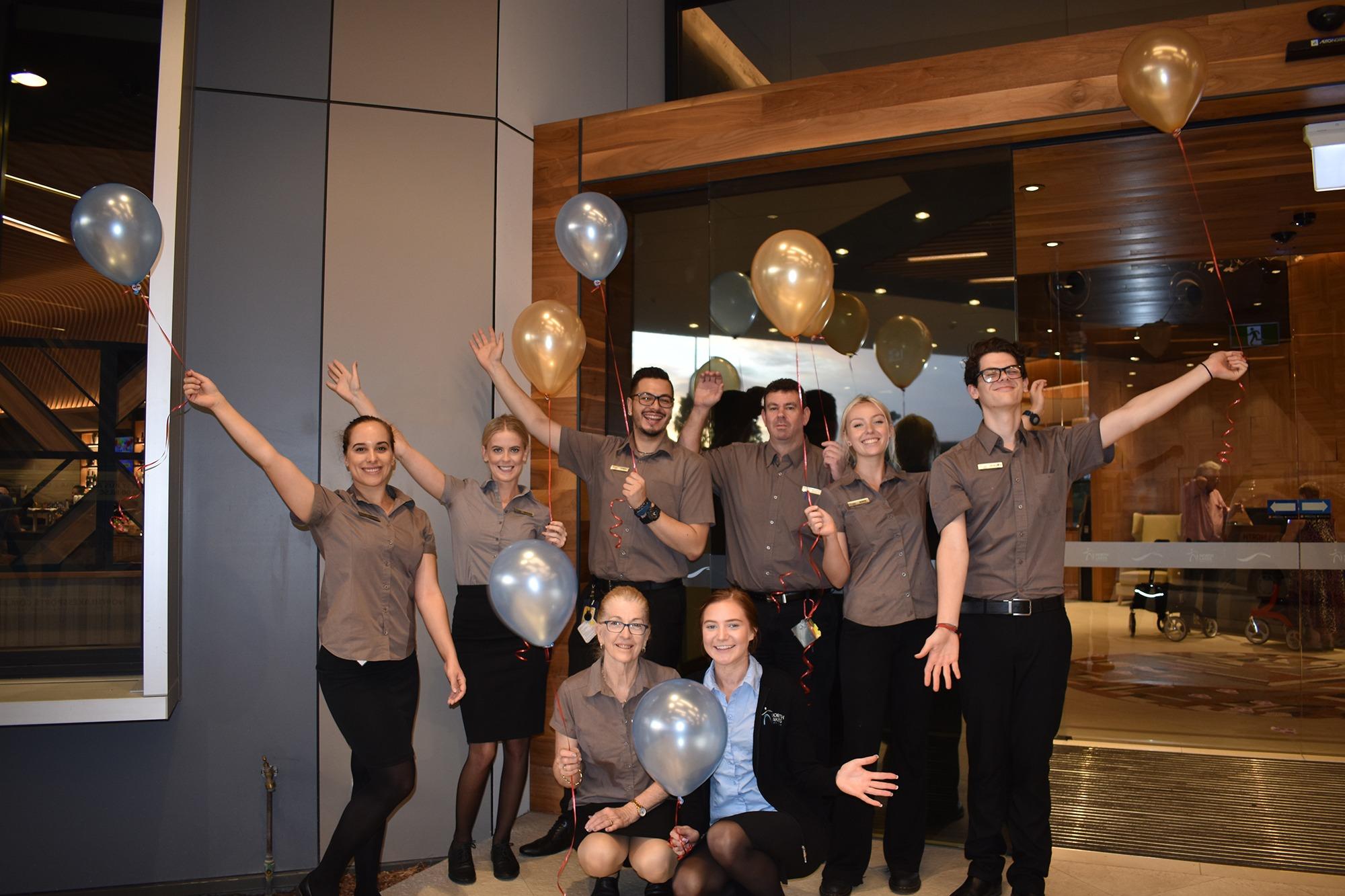 NLSC Staff Celebrating Turning 2