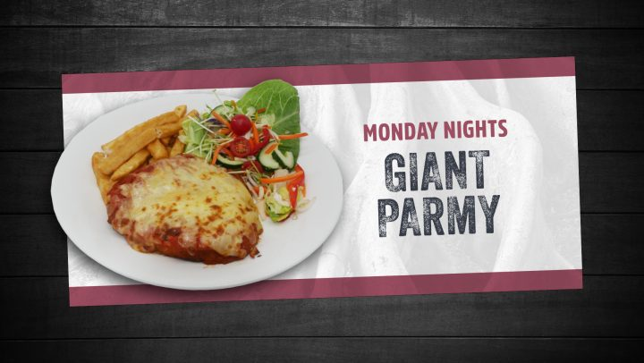 Giant Parmy
