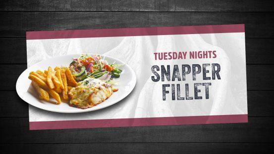 Snapper Fillet
