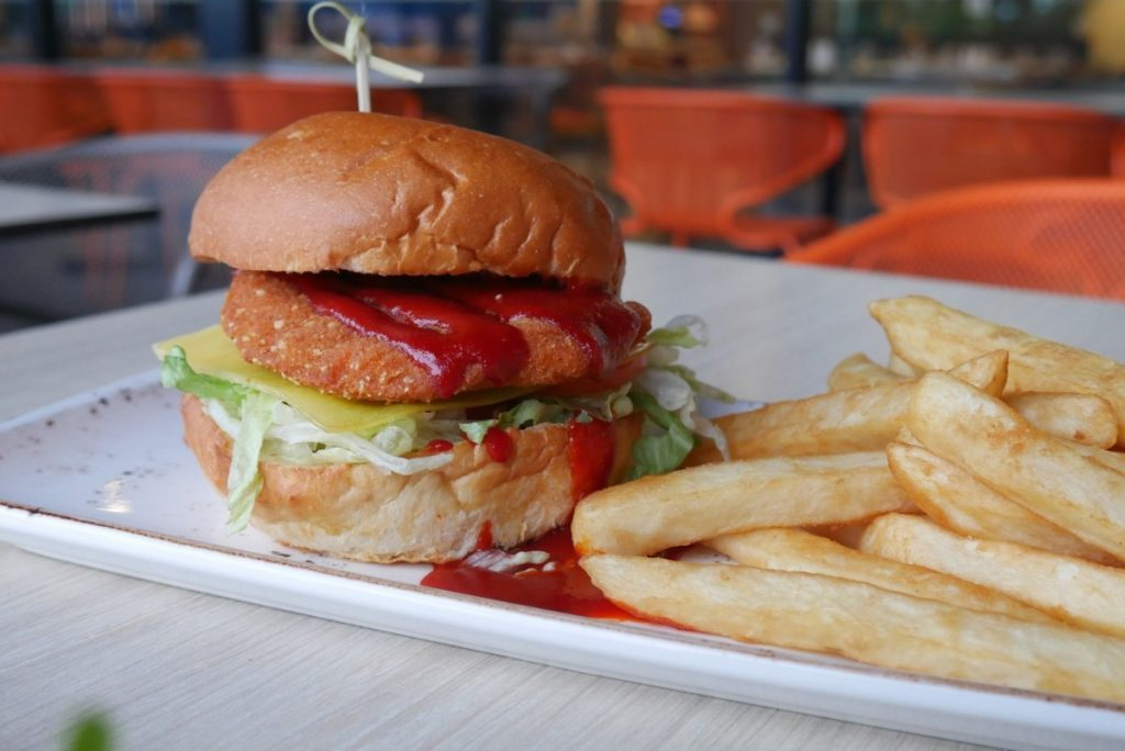 Crave Cafe Burger