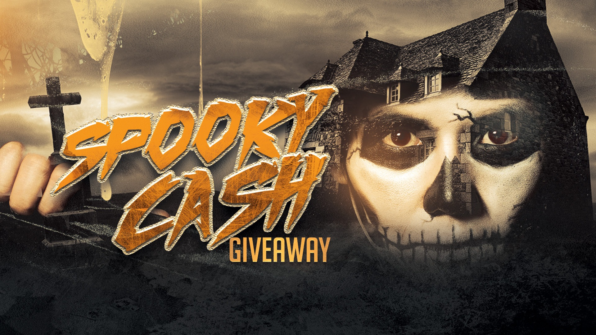 SPOOKY CASH GIVEAWAY