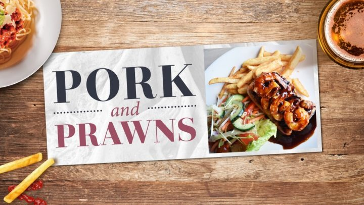 Pork & Prawns