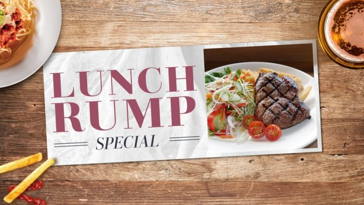 Lunch Rump