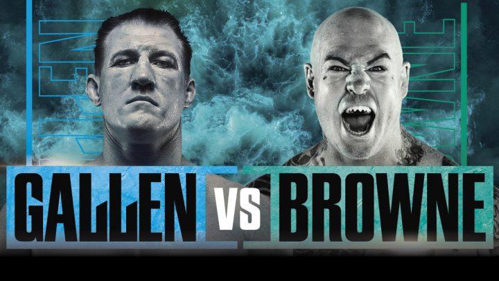 Gallen Vs Browne Boxing Match