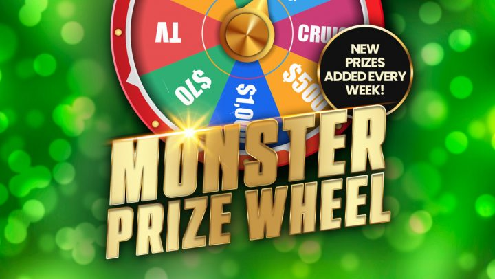 Monster Prize Wheel