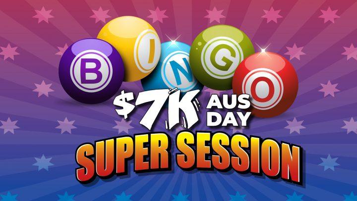 NYD $7K Bingo Super Session
