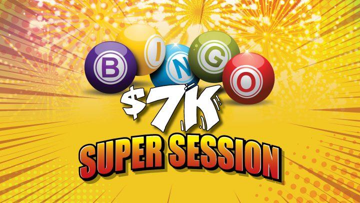 $7K Labour Day Monday Super Session