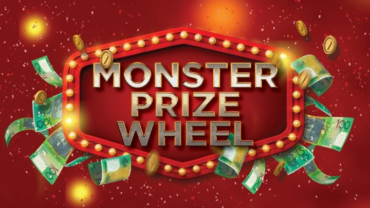 Monster Prize Wheel