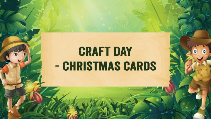 Kids Craft Day – Christmas Cards