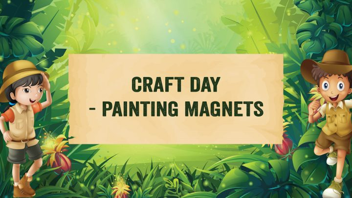 Kids Craft Day – Magnet Painting