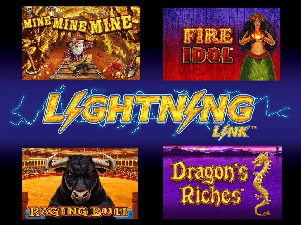 The latest Lightning Link & Lightning Cash games are all available
