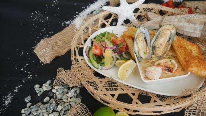 Seafood Chowder Hot Pot