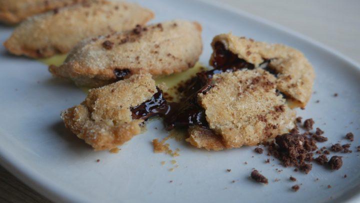 Chocolate Hazelnut Empanada