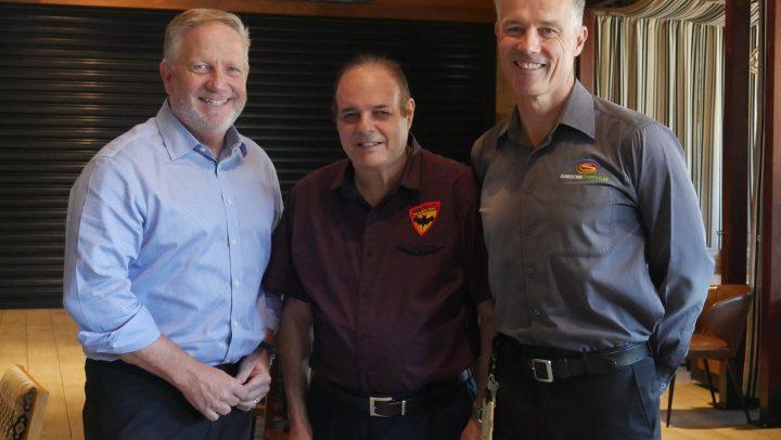 Cricket Legend Bowls Support to Blind Bats!