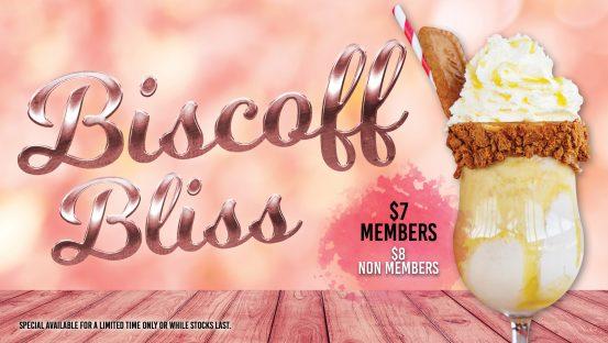 Biscoff Bliss Milkshake